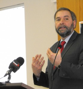 Thomas Mulcair at wRanter.com
