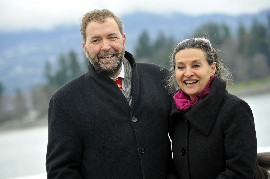Thomas Mulcair and Catherine Pinhas at wRanter.com
