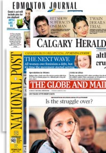 Canadian newspapers at wRanter.com