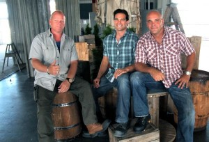 Mike Holmes, Scott McGillivray and Bryan Baumler at wRanter.com