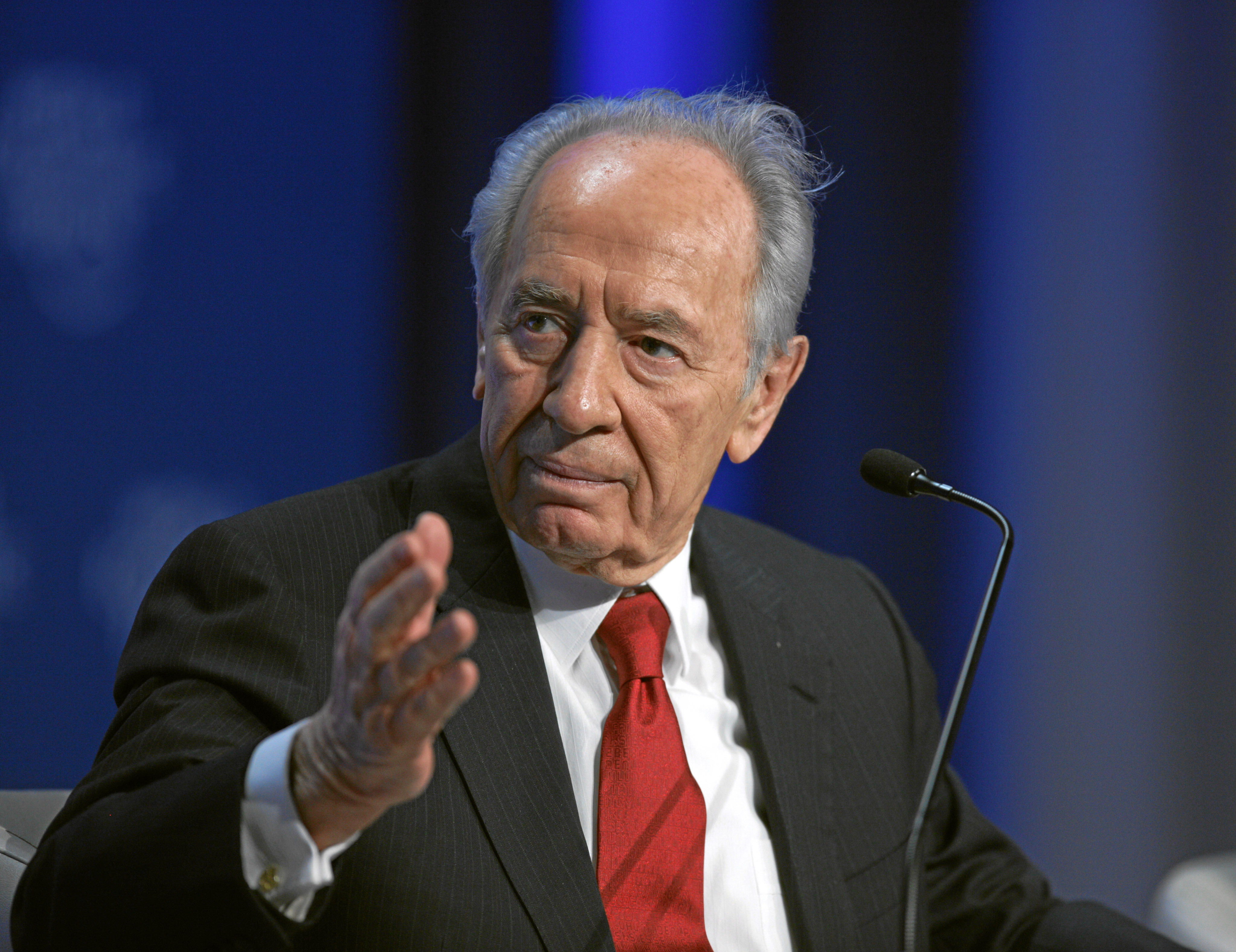 Shimon Peres at wRanter.com