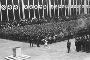 1936 Berlin Olympics torch ceremony at wRanter,com