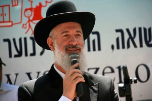 Rabbi Yona Metzger at wRanter.com