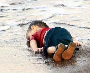Alan Kurdi's lifeless body