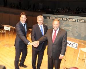 The leaders at the Munk Debate